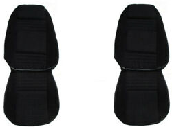 Pui New Front And Rear Seat Covers Upholstery Fits 1979-1980 Pontiac Firebird
