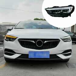 For Buick Gl8 2017-2019 Led Headlight Assembly Led Drl Sequential Turn Signal