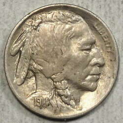 1914-s Buffalo Nickel, Choice Almost Uncirculated, Better Date  0701-04