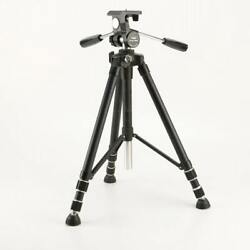Ambico Camera Tripod / Stand, Legs Extend To 55 Collapsible Adjustable -.v161