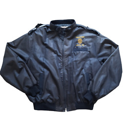 Vintage Teamsters Local 891 Union Made Usa Zip Up Brown Jacket 2xl Xxl Kinglouie