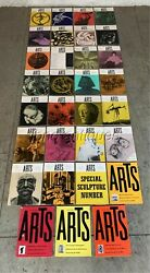 1955-1959 Arts Magazine Arts Digest 31 Issues. A Must For The Art Collector