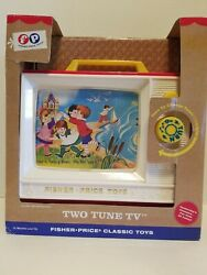 Fisher Price Classic Toys - Two Tune Tv, 2014 Version. New And Unopened.