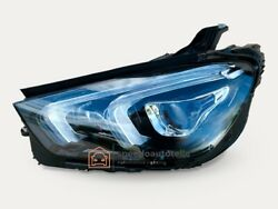 Mercedes Gle W167 A167 Headlight Vollled Left Top Complete
