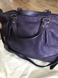 Louis Vuittons Limited Collection Mauve Leather