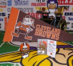 Nfl Teenymates 2020 Silver Ser 9 Cleveland Browns Rb Nick Chubb Color Rush Fig
