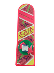 Michael J Fox + 3 Signed Autograph Cast Hoverboard - Back To The Future Bas 16