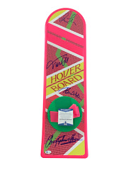 Michael J Fox + 3 Signed Autograph Cast Hoverboard - Back To The Future Bas 18