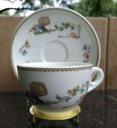 Mintons Tea Cup And Saucer Set The T. Eaton Co. Limited Canada With Stand