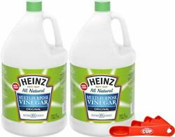 Heinz All Natural Multi-purpose Cleaning Vinegar 1 Gallon Bottle Pack Of 2 Wi...