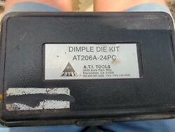 A.t.i Tools Dimple Die Kit Ati206a-24pc