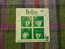 Beatles Very Early Rare 1964 ' Holiday Inn ' Flier In Mint Condition