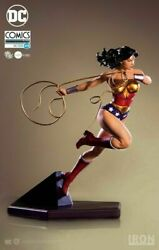 New Toy In Stock Iron Studios 1/10 Dc Comics Wonder Woman Limited Painted Statue