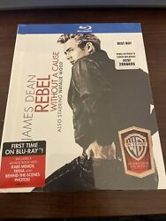 Blu-ray Rebel Without A Cause 2013, Digibook James Dean, Natalie Wood Bx3