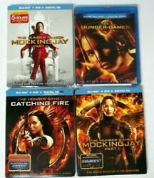 The Hunger Games 4-movie Collection Blu-ray Lot New Sealed