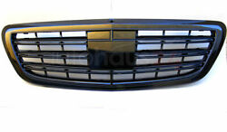 Mercedes Benz S Class W222 S65 Amg Look Grill Full Shiny Black 2014-2016 New