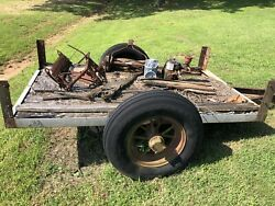 Antique One Of A Kind Trailer