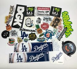Variety Lot Of Cannabis Stickers Stores - Clothing - Sports