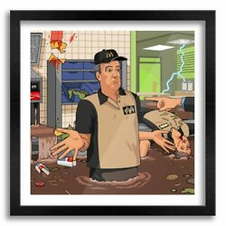 Clarkson Can't Mcdonalds Paper Posters Or Canvas Print Wooden Frames Wall Art