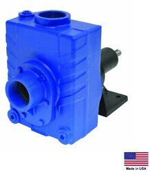 Centrifugal Pump - Commercial - Belt Or Direct Drive - 7200 Gph - 2 Ports Ss