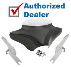 Memphis Shades Batwing Fairing 5 Windshield Package Harley Road King Flhr Flhrs
