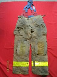 Mfg 2013 Morning Pride 38 X 35 Fire Fighter Turnout Pants Bunker Gear Rescue