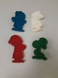 Vtg Peanuts Snoopy Lucy Charlie Brown Linus Christmas Cookie Cutters Ufsyndicate