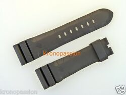 Black Rubber Strap 26mm By 22mm Long Size Oem New