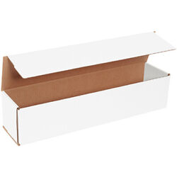 20 X 4 X 4 White Corrugated Mailing/shipping Boxes Ect-32b 500 Pieces