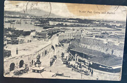 1925 England Paqueboat Rppc Postcard Cover To Shanghai China
