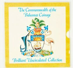 1989 The Commonwealth Of The Bahamas Coinage Brilliant Uncirculated Coin Set