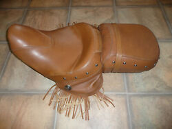 Indian Chief Desert Tan Seat 14-20 Vintage Classic Chieftain Springfield Rm Nice