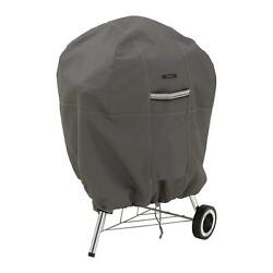 Classic Accessories Ravenna Patio Kettle Bbq Grill Cover Taupe Round