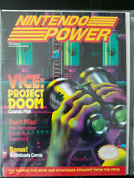 Nintendo Power Magazine Issue 24 Ft Vice Project Doom + Disneyand039s Tale Spin Post