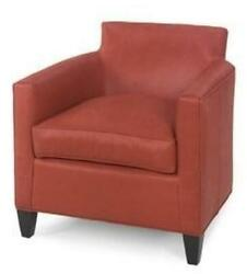 Quality Accent Chair | Reproduction Wood Leather