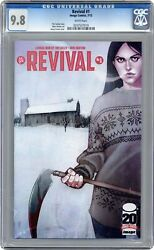 Revival 1a Frison 1st Printing Cgc 9.8 2012 0207537019