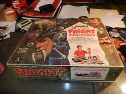 Mattel Fright Factory Thingmaker Kit 1966 Vintage Playset W/ Box Oven Works