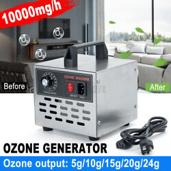 110v Commercial Industrial Ozone Generator Pro Air Purifier Mold Mildew  @z