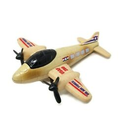 Vintage U.s.a.f 280 Airplane Tin / Plastic Friction Toy China Us Air Force