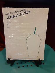 Rare Starbucks Frappuccino Promotional Store Display Pad 2013 Barista New Pack