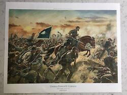 Don Troiani Signed Limited Edition Civil War Print General Patrick R. Cleburne