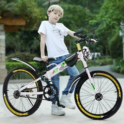 Youth Mountain 20in Bmx Style Frame Kids Cycling Bikes New With Water Bottle Bag