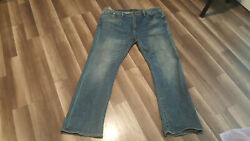 Lucky Brand Menand039s Size 42x34 Actual Size 42x32 181 Relaxed Straight Jeans