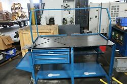 Arcstation Welding Table 30 X 60 W/ X-pattern And Solid Tabletop