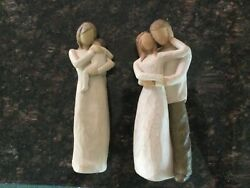 Willow Tree Figurines Together And Child Of My Heart.