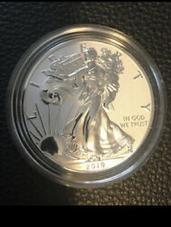2019 S Enhanced Reverse Proof Silver Eagle Beautiful Coin