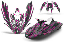 Jet Ski Graphics Kit Decal Wrap For Sea-doo Bombardier Spark 3 Up 14-18 Shock P