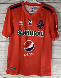 Umbro Guatemala Club Social Y Deportivo 18/19 Home Mens Soccer Jersey M Red