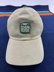 Vtg Cc Filson Genuine Garment Large Fitted Fly Fishing Hat Cap Brown Sz 7-7 1/4