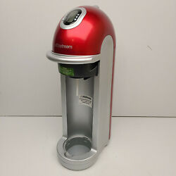 Sodastream Fizz Model Fz9001 One Touch Sparkling Water And Soda Maker - Red